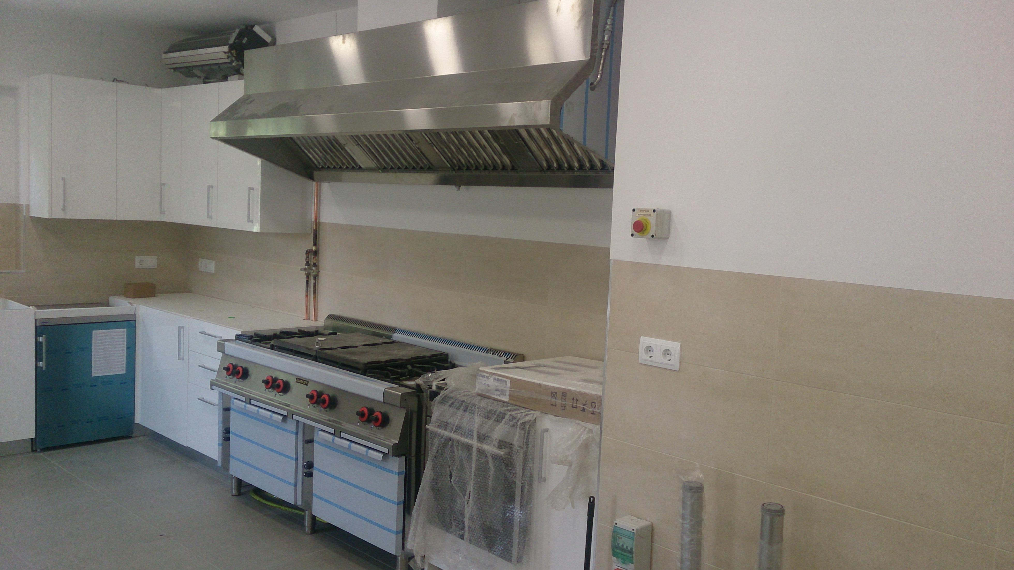 Maquinaria de hosteleria y ventilacion industrial Residencia Embajador Britanico